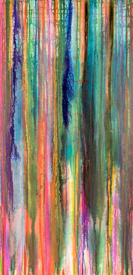 Farbdynamik I 50x100cm