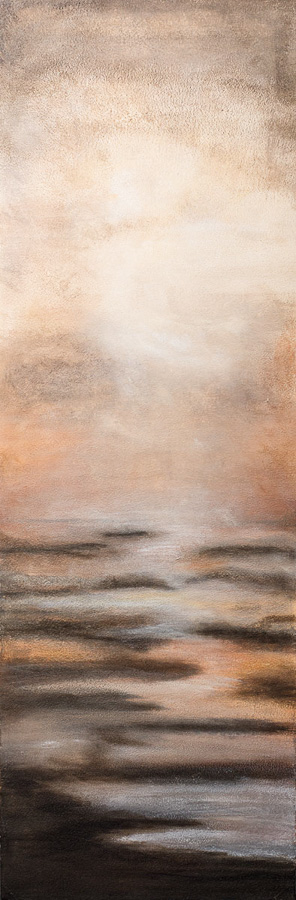 Morgens am Fluss_30x90cm