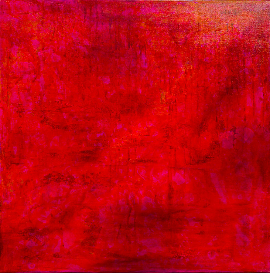 Roter Traum  80x80cm
